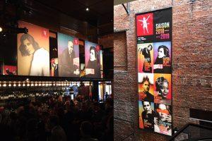Bannieres grand format Theatre du nouveau monde